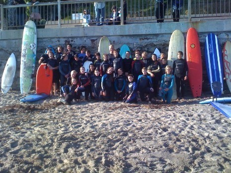 Surf Team Photo